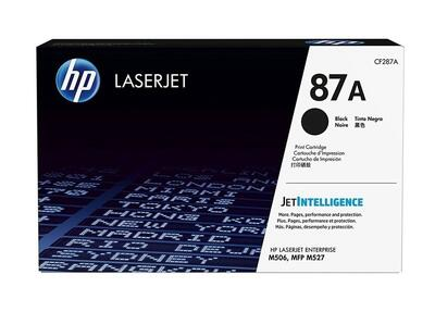 HP - Hp CF287A (87A) Siyah Orjinal Toner Laserjet M501, M506, M527