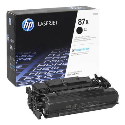 HP - Hp CF287X (87X) Siyah Orjinal Toner Laserjet M501, M506, M527