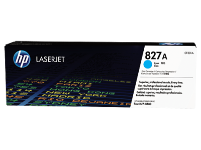 HP - HP CF301A (827A) MAVİ ORJİNAL TONER - LaserJet M880