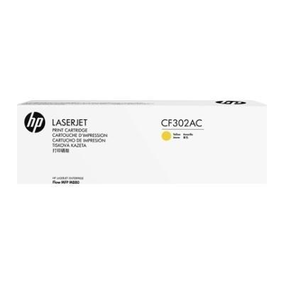HP - HP CF302AC (827A) Sarı Orjinal TonerHP LaserJet M880 (B)