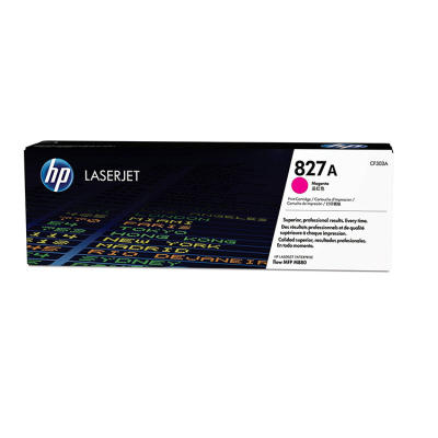 HP - HP CF303A (827A) KIRMIZI ORJİNAL TONER - LaserJet M880
