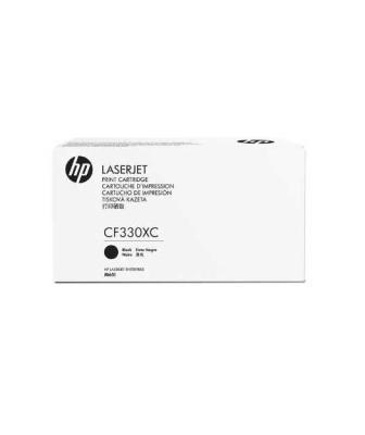 HP - HP CF330XC (654X) SİYAH ORJİNAL TONER Hp LaserJet M651