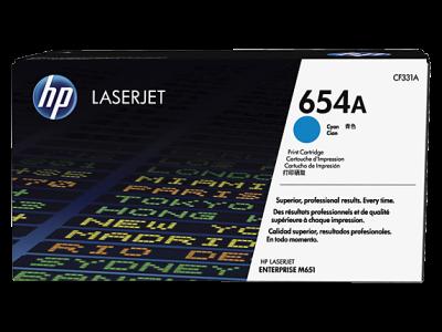 HP - HP CF331A (654A) MAVİ ORJİNAL TONER LaserJet M651