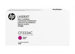- HP CF333AC (654A) KIRMIZI ORJİNAL TONER LaserJet M651