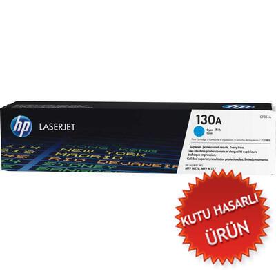 HP - Hp CF351A (130A) Mavi Orjinal Toner (C)