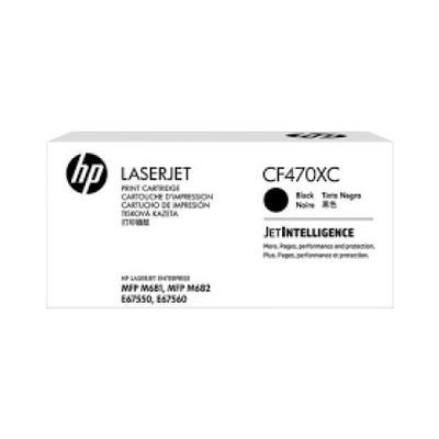 HP - HP CF470XC (657X) Siyah Orjinal Toner Yüksek Kapasite Laserjet M681, M682, E67550, E67560