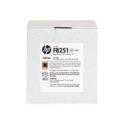 HP - HP CQ123A FB251 2 Litre BEYAZ ORJİNAL SCITEX MÜREKKEP