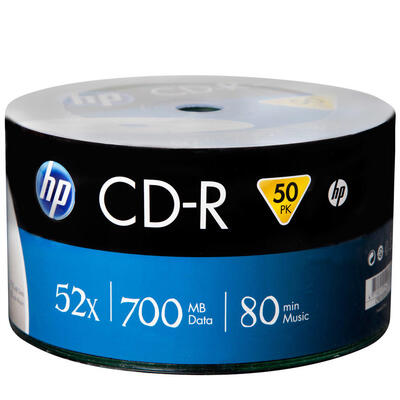 HP - HP CRE00070-3 52X 700 MB CD-R (50'li Paket)