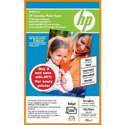 HP - Hp Günlük Parlak Fotoğraf Kağıdı (SD679A) - 2x100 Sayfa/10x15cm