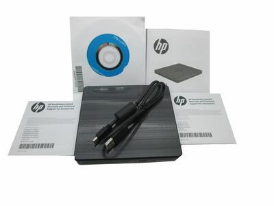 Hp Harici USB DVD-RW Sürücüsü (F2B56AA) - Thumbnail
