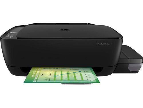 HP Ink Tank Wireless 415 Fotokopi + Tarayıcı + Wi-Fi + Çok Fonksiyonlu Inkjet Tanklı Yazıcı (Z4B53A)