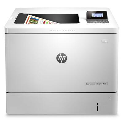 HP - HP LaserJet Enterprise M553N (B5L24A) Renkli Lazer Yazıcı Ethernet + Airprint