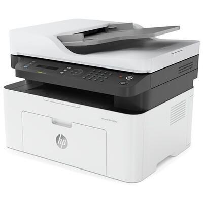 HP - HP Laserjet MFP 137fnw Lazer Yazıcı + Faks + Fotokopi + Tarayıcı + Wi-Fi (4ZB84A)