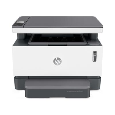 HP - HP Neverstop Laser MFP 1200w + Fotokopi + Tarayıcı + Wifi + Çok Fonksiyonlu Doldurulabilir Lazer Yazıcı (4RY26A)