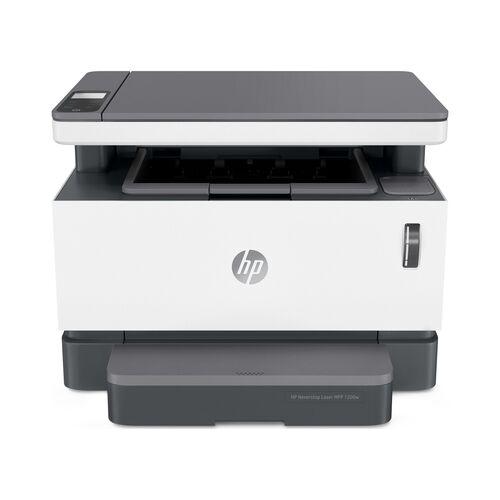 HP Neverstop Laser MFP 1200w + Fotokopi + Tarayıcı + Wifi + Çok Fonksiyonlu Doldurulabilir Lazer Yazıcı (4RY26A)