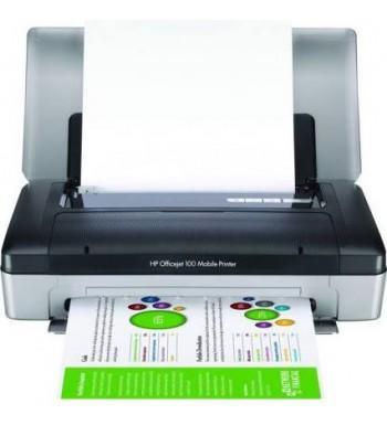 HP - HP OfficeJet 100 (CN551A) Taşınabilir Mobil Yazıcı Bluetooth Özellikli