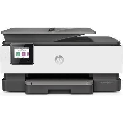 HP - HP Officejet Pro 8023 + Fotokopi + Faks + Tarayıcı + Wifi + Dubleks Inkjet Yazıcı (1KR64B)