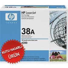 HP - HP Q1338A (38A) Siyah Orjinal Toner - HP Laserjet 4200 Toneri (C)