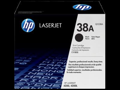 HP - HP Q1338A (38A) Siyah Orjinal Toner - LaserJet 4200