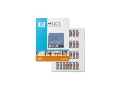 HP - HP Q2006A SDLT2 DATA KARTUŞ BARKOD ETİKETİ (100 adet + 10 Adet Temizleme Kartuşu Etiketi)