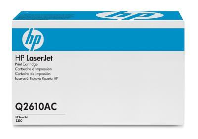 HP - HP Q2610AC (10A) SİYAH ORJİNAL TONER-HP Laserjet 2300