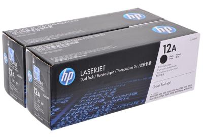 HP - HP Q2612AF (12A) Siyah Orjinal Toner İkili Paket HP 1010/1020/3015/M1005