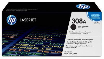 HP - HP Q2670A (308A) SİYAH LAZER TONER - HP 3500/3550/3700 YAZICI TONERİ