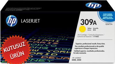 HP - Hp Q2672A (309A) Sarı Orjinal Lazer Toner - 3500 / 3550 (U)