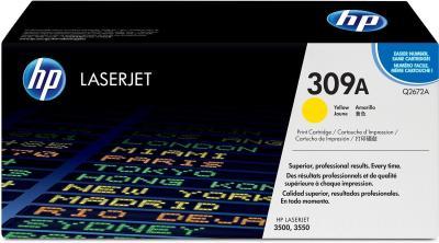 HP - HP Q2672A (309A) SARI ORJİNAL LAZER TONER - HP 3500/3550 TONERİ