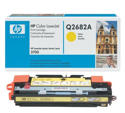 HP - HP Q2682A SARI ORJİNAL TONER (B)