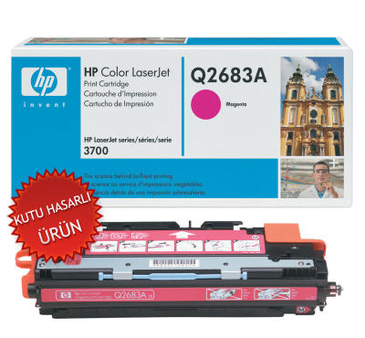HP - HP Q2683A (311A) KIRMIZI ORJİNAL TONER (C)