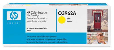 HP - HP Q3962A (122A) SARI ORJİNAL TONER (B)