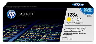 HP - HP Q3972A (123A) SARI ORJİNAL TONER-HP 2550/HP 2820-2840 TONERİ