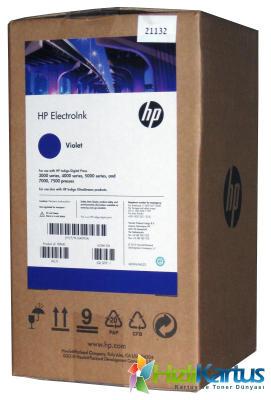 HP - Hp Q4093A Mor (Violet) Orjinal Indigo Mürekkebi (4lü Paket) Digital Press 3000, 4000, 5000