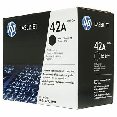 HP - HP Q5942A (42A) SİYAH ORJİNAL TONER HP 4250 / 4350
