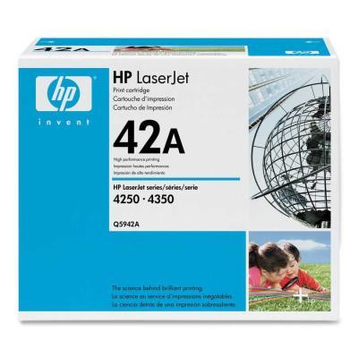 HP - HP Q5942A (42A) SİYAH ORJİNAL TONER (B)