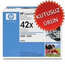 HP - HP Q5942X (42X) ORJİNAL TONER Seali Çekilmiş (U)