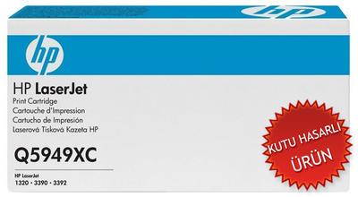 HP - HP Q5949XC (49X) Siyah Orjinal Toner (Özel Sözleşme Ürünü) (C)