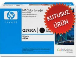 HP - HP Q5950A SİYAH ORJİNAL TONER (U)
