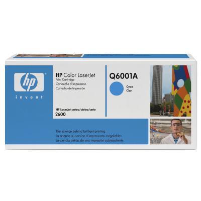 HP - HP Q6001A (124A) MAVİ ORJİNAL TONER (B)