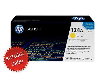 HP - HP Q6002A (124A) Sarı Orjinal Toner (U)