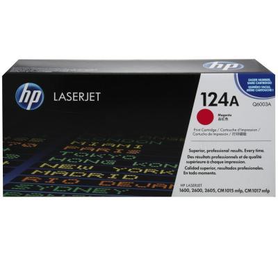 HP - HP Q6003A KIRMIZI ORJİNAL TONER - HP 1600 / 2600 ORJİNAL TONER