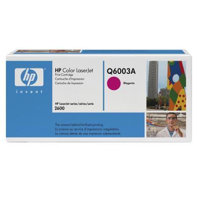 HP - HP Q6003A KIRMIZI ORJİNAL TONER (B)