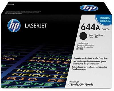 HP - HP Q6460A Siyah Orjinal Toner Laserjet 4730, CM4730