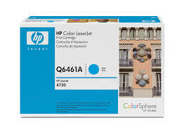 HP - HP Q6461A 4730 Mavi Orjinal Toner (B)