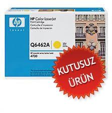 HP - HP Q6462A (644A) SARI ORJİNAL TONER (Kutusuz Ürün) CM4730