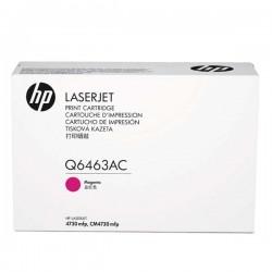 HP - HP Q6463AC KIRMIZI ORJİNAL TONER - Laserjet CM4730