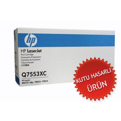 HP - HP Q7553XC (53X) Orjinal Toner (C)