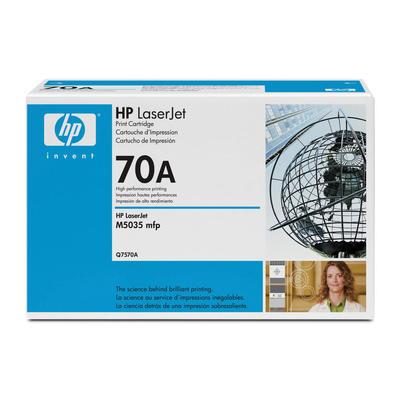 HP - HP Q7570A (70A) Siyah Orjinal Toner (B)