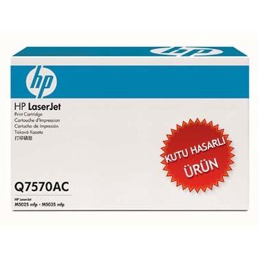 HP - HP Q7570AC (70A) SİYAH ORJİNAL TONER (KUTU HASARLI ÜRÜN)